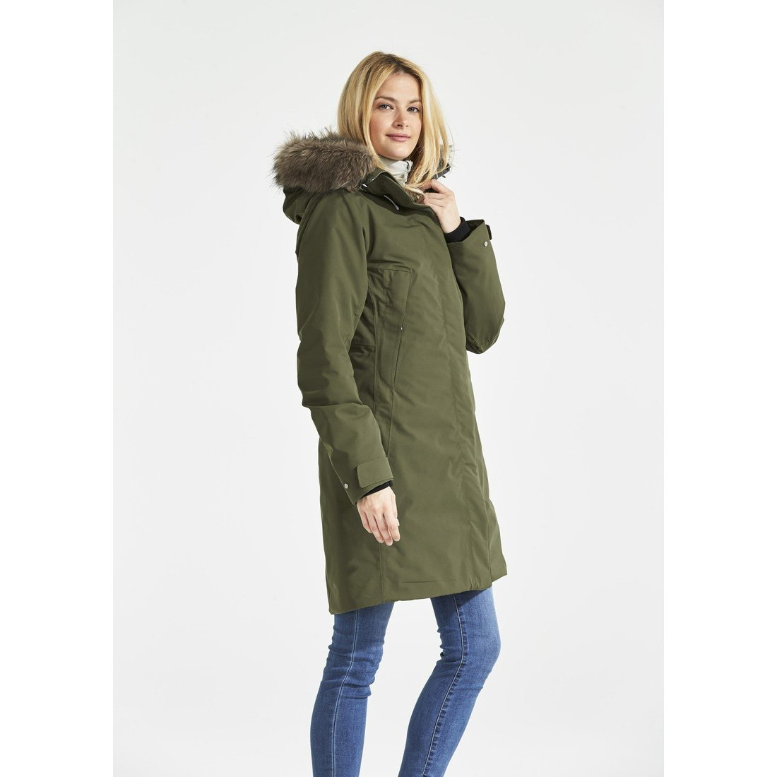 121edc8fdde Куртка женская Nadine (серо-зеленый) Didriksons 501817 161 для ...