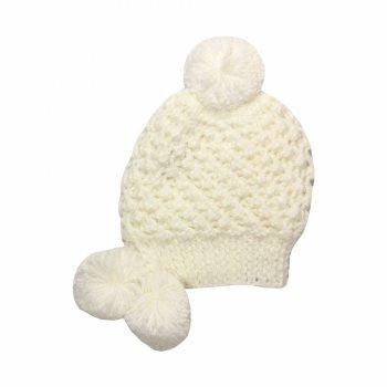 Шапка NELLY (белый со снежинками)Одежда<br>; Размеры в наличии: M, L, XL.<br>