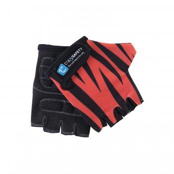 Перчатки Orange Tiger (оранжевый)Одежда<br>Перчатки изготовлены из высокопрочной и качественной ткани, которая обладает повышенной износоустойчивостью, практичностью и демонстрирует великолепные эксплуатационные характеристики. На ладошке предусмотрены специальные вставки для дополнительной защиты от ударов.<br> Производитель: Crazy Safety (Дания)<br> Страна производства: Китай<br> Модель производится в размере S, что подойдет для детей от 3 до 6 лет. Объем регулируется с помощью липучки.<br> Коллекция: Весна/Лето 2017  <br> Верх: 100% полиэстер<br> Подкладка: 100% полиэстер<br>; Размеры в наличии: S.<br>