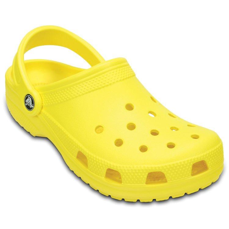 Сабо Classic (желтый)Одежда<br>; Размеры в наличии: M5/W7, M4/W6, M6/W8, M7/W9, M8/W10, M9/W11.<br>