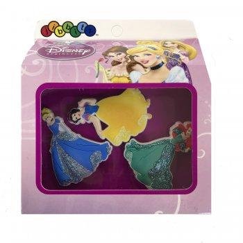 Украшение для обуви Crocs Принцессы (комплект 3 шт.)Одежда<br>Набор джибитсов с самыми любимыми каждой девочкой принцессами - Золушкой, Ариэль и Белоснежкой. Они украсят обувь девочки и сделают ее индивидуальной! <br>В наборе 3 штуки.  ; Размеры в наличии: б/р.<br>