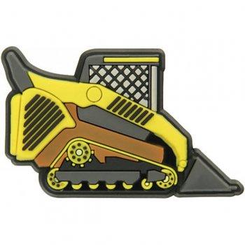 Украшение для обуви Crocs БульдозерОдежда<br>Яркий джибитс в виде желтого бульдозера. Стильный и заметный аксессуар, который поможет ребенку отличить свои Crocs от чужих.  ; Размеры в наличии: б/р.<br>