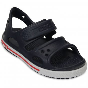 Crocs Сандалии Crocband II Sandal PS (темно-синий)