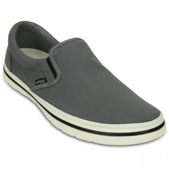 Crocs, Слипоны Crocs Norlin Slip-on M (серый)