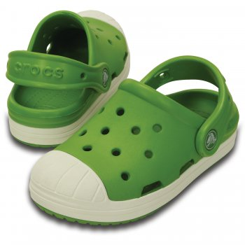 Crocs, Сабо Crocs Bump It Clog K (зеленый), арт. 202282-31Q