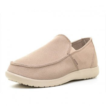 Crocs, Слипоны Santa Cruz Clean Cut Loafer (бежевый)