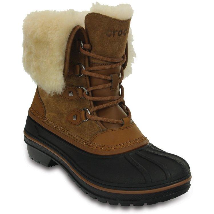 Ботинки женские AllCast II Luxe Boot W (коричневый)