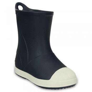Сапоги Crocs Bump It Boot (темно-синий)Одежда<br>Материал<br>Croslite (крослайт) - Полимер<br>Описание <br>Сапоги Crocs Bump It Rain Boot  невероятно легкие, мягкие и удобные благодаря материалу Croslite. Пенообразная структура материала Croslite сохраняет естественное тепло тела. Сапоги просты в уходе - все загрязнения удаляются при помощи  воды и мыла. Для удобства одевания модель имеет петлю на заднике.<br>Производитель: Crocs (США)<br>Страны производства: Китай, Италия, Вьетнам, США, Словения, Нидерланды<br>Коллекция: Весна/Лето 2017<br>Модель производится в размерах: С4(21), С5(22), С6(23), С7(24), С8(25), С9(26), С10(27), С11 (28), С12 (29-30), С13 (30-31), J1 (32-33), J2 (33-34), J3 (34-35)<br>Уход<br>Сабо Crocs легко моются теплой водой. При необходимости их можно стирать в стиральной машине при температуре 30 градусов<br>; Размеры в наличии: C6, J2, J1, C13, C12, C11, C10, C9, C8, C7, J3.<br>