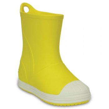 Сапоги Crocs Bump It Boot (желтый)Одежда<br>; Размеры в наличии: C6, J2, J1, C13, C12, C11, C10, C9, C8, C7, J3.<br>