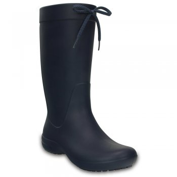 Crocs Сапоги Crocs Freesail Rain Boot (синий)