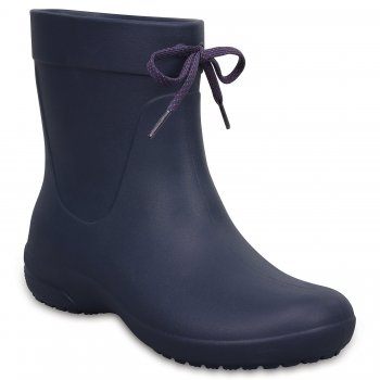 Crocs, Полусапоги Crocs freesail Shorty Rainboot (синий)