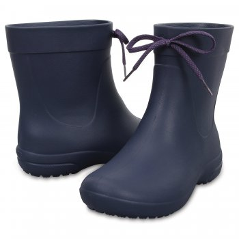 Crocs, Полусапоги Crocs freesail Shorty Rainboot (синий), арт. 203851-410