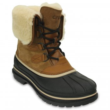 Crocs Ботинки мужские AllCast II Luxe Boot (коричневый) бейсболка adidas performance adidas performance ad094cwqml45