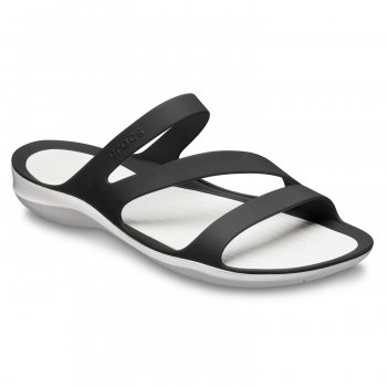 Crocs Шлепанцы Swiftwater Sandal (черный)