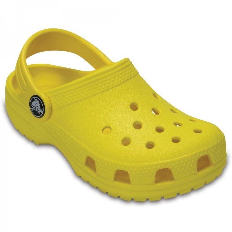 Сабо Classic Clog (желтый)Обувь<br>; Размеры в наличии: C4, M2/W4, M3/W5, J3, J2, J1, C13, C12, C11, C10, C9, C8, C7, C6, C5, M1/W3.<br>