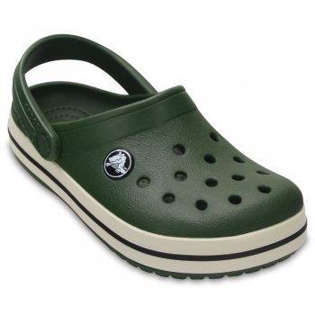 Сабо Crocband Clog (темно-зеленый)Обувь<br>Материал<br>Croslite (крослайт) - Полимер<br>Описание <br>Яркие сабо из уникального, запатентованного материала Croslite. Материал является бактериостатичным, то есть препятствующим росту и размножению бактерий, вызывающих запах. Преимущества оригинальных сабо Сrocs: очень легкие и мягкие, долговечные, устойчивая нескользящая подошва, великолепное качество, простой уход. <br>Производитель: Crocs (США)<br>Страны производства: Китай, Италия, Вьетнам, США, Словения, Нидерланды<br>Коллекция: Весна/Лето 2016<br>Модель производится в размерах: С4(21), С5(22), С6(23), С7(24), С8(25), С9(26), С10(27), С11 (28), С12 (29-30), С13 (30-31), J1 (32-33), J2 (33-34), J3 (34-35)<br>Уход<br>Сабо Crocs легко моются теплой водой. При необходимости их можно стирать в стиральной машине при температуре 30 градусов<br>; Размеры в наличии: C4, J2, J1, C13, C12, C11, C10, C9, C8, C7, C6, C5, J3.<br>