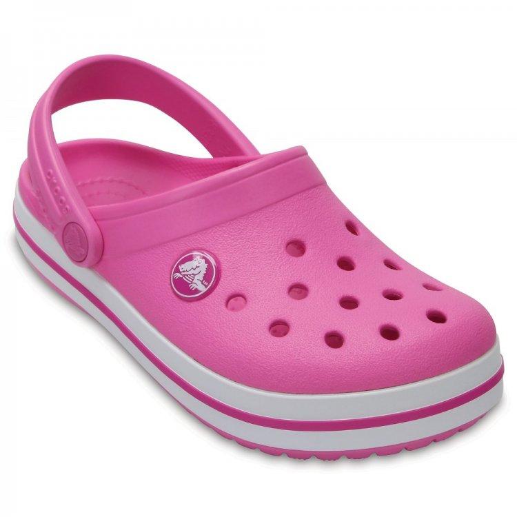 Сабо Crocs Crocband (розовый)Обувь<br>; Размеры в наличии: C4, J2, J1, C13, C12, C11, C10, C9, C8, C7, C6, C5, J3.<br>