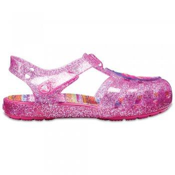 Сабо Crocs Isabella Novelty Sandal (нежно-розовый)Обувь<br>Яркие сабо из уникального, запатентованного материала Croslite. Материал является бактериостатичным, то есть препятствующим росту и размножению бактерий, вызывающих запах. Преимущества оригинальных сабо Сrocs: очень легкие и мягкие, долговечные, устойчивая нескользящая подошва, великолепное качество, простой уход. <br><br> Сабо Crocs легко моются теплой водой. При необходимости их можно стирать в стиральной машине при температуре 30 градусов<br>  <br> Верх: Croslite (крослайт) - Полимер<br> Производитель: Crocs (США)<br> Страны производства: Китай, Италия, Вьетнам, США, Словения, Нидерланды<br> Модель производится в размерах: <br> Коллекция: Весна/Лето 2018.<br>; Размеры в наличии: C13, C5, C6, C7, C8, C9, C10, C11, C12, C4.<br>