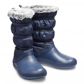 Crocs, Сапоги Crocband Winter Boot (синий), арт. 205314-410