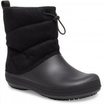 Crocs, Сапоги Crocband Puff Boot (черый)