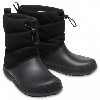 Crocs, Сапоги Crocband Puff Boot (черый), арт. 205858-001