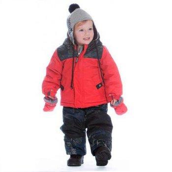 Комплект для малышей (красный)Комбинезоны<br>Материал<br>Верх: Poly Twil full Dull (100% полиэстер)<br>Утеплитель: куртка -226 грамм, рукава - 170 грамм, брюки -170 грамм (Polyfill - 100% полиэстер).<br>Подкладка: 100% полиэстер (Polar fleece)<br>Водонепроницаемость: 5000 мм<br>Паропроводимость: 5000 г/м2/24 часа<br>Износостойкость: нет данных<br>Описание<br>Функциональные элементы: Куртка: капюшон не отстегивается, защитная планка молнии на липучке, защита подбородка от защемления, карманы на молнии, манжеты на липучке. Брюки: регулируемые лямки, пояс на резинке, удлиненная молния, снежные гетры, съемные силиконовые штрипки. <br>Комплект: куртка, полукомбинезон, шапка (флис), шарф (флис), манишка (флис), варежки, пинетки. <br>Производитель: Deux par Deux (Канада)<br>Страна производства: Китай <br>Модель производится в размерах 12-36 месяцев<br>Коллекция: Осень/Зима 2017.<br>Температурный режим<br>От 0 до -30 градусов.; Размеры в наличии: 12M.<br>