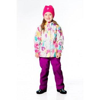 Комплект утепленный (фиолетовый с цветами)Комбинезоны<br>; Размеры в наличии: 2, 3, 4, 5, 6, 7, 8, 10, 18M, 24M.<br>