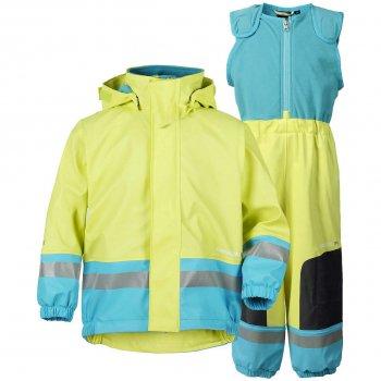 Комплект прорезиненный утепленный Boardman (лимонный)Одежда<br>Описание<br><br>Характеристики<br>Верх: 100% полиуретан<br>Утеплитель: нет<br>Подкладка: 100% полиэстер (флис)<br>Водонепроницаемость: 8 000 мм<br>Износостойкость: нет данных<br>Производитель: Didriksons 1913 (Швеция)<br>Страна производства: Китай <br>Модель производится в размерах 70-140<br>Коллекция: Весна-Лето 2018<br>Температурный режим<br>От +10 до -5 градусов<br>; Размеры в наличии: 70, 80, 90, 100, 110, 120, 130, 140.<br>