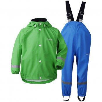 Комплект прорезиненный Slaskeman (зеленый)Одежда<br>Описание: <br><br>Характеристики: <br>Верх: 100% полиуретан<br>Утеплитель: нет<br>Подкладка: 100% полиэстер (трикотаж)<br>Водонепроницаемость: 8 000 мм<br>Износостойкость: нет данных<br>Производитель: Didriksons 1913 (Швеция)<br>Страна производства: Китай <br>Модель производится в размерах 70-140<br>Коллекция: Весна/Лето 2018<br>Температурный режим: <br>От 0 до +20 градусов<br>; Размеры в наличии: 70, 80, 90, 100, 110, 120, 130, 140.<br>