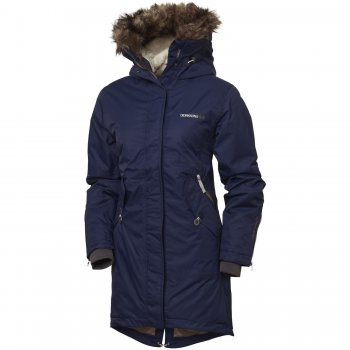 Куртка женская Lindsey parka (морской бриз)Одежда<br>Женская зимняя куртка-парка. Спортивная, но при этом женственная модель, хорошо будет смотреться как с брюками, так и с юбкой. Удлиненная спинка для защиты от холода и ветра. Спинка и капюшон дополнительно утеплены искусственным мехом. Подкладка простегана. Утяжка по подолу также способствует лучшей теплоизоляции в сильные морозы. Регулировка талии помогает подогнать куртку точно по фигуре, при этом ткань не топорщится спереди, т.к. утягивается только область поясницы. Опушка на капюшоне защищает лицо от обморожений. При желании опушка снимается. Внутренние удлиненные манжеты из трикотажа хорошо облегают запястья. Удобные внешние и внутренние карманы, молния защищена утепляющей планкой на кнопках. Вся фурнитура отличается высоким качеством и продуманным дизайном.<br><br> Производитель: Didriksons 1913 (Швеция)<br> Страна производства: Китай<br> Коллекция: Осень/Зима 2016<br>   капюшон не отстегивается, регулируется по объему, мех отстегивается, защитная планка молнии на кнопках, карманы на молнии, карманы без застежек, трикотажные манжеты эластичные манжеты, утяжка на талии утяжка по подолу.  <br> Верх: 100% полиамид<br> Утеплитель: 160 грамм (100% полиэстер)<br> Подкладка: 100% полиэстер<br> Водонепроницаемость: 5000 мм<br> Паропроводимость: 4000 г/м2/24ч<br> Износостойкость: нет данных <br><br> Температурный режим <br> От +5 до -15 градусов; Размеры в наличии: 32, 34, 36, 38, 40, 42, 44.<br>