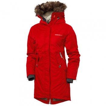 Куртка женская LINDSEY PARKA (красный)Одежда<br>Описание: <br>Удлиненная зимняя куртка от  шведской марки Didriksons 1913. Оптимальные показатели водонепроницаемости не дадут промокнут под мокрым снегом, удлиненный крой  и меховая спинка сохраняют тепло, а широкий размерный ряд поможет подобрать ваш идеальный размер. Благодаря множеству утяжек и регулировок куртка отлично садится по фигуре, а в глубоких карманах удобно прятать руки от ветра и холода.<br>Функциональные элементы: капюшон отстегивается с помощью кнопок, регулируется по объему, мех отстегивается, защитная планка молнии на кнопках, защита подбородка от защемления, меховая спинка, карманы на пуговице, манжеты на молнии, трикотажные манжеты, утяжка на талии, утяжка по подолу, светоотражающие элементы.<br>Характеристики: <br>Верх: 100% полиамид<br>Утеплитель: 160 грамм (100% полиэстер)<br>Подкладка: 100% полиэстер<br>Водонепроницаемость: 5000 мм<br>Паропроводимость: 4000 г/м2/24ч<br>Износостойкость: нет данных <br>Производитель: Didriksons 1913 (Швеция)<br>Страна производства: Китай<br>Модель производится в размерах 34-46<br>Коллекция: Осень/Зима 2017<br>Температурный режим<br>От +5 до -15 градусов; Размеры в наличии: 32, 34, 36, 38, 40.<br>