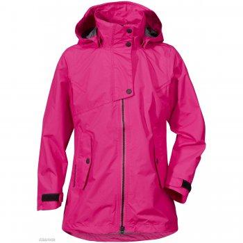 Куртка для девушки CILLY (фуксия)Куртки<br>Материал<br>Верх: 100% полиамид<br>Утеплитель: нет<br>Подкладка: 100% полиэстер (сетка)<br>Водонепроницаемость: 8000 мм.<br>Паропроводимость: 4000 г/м2/24ч<br>Износостойкость: нет данных<br>Описание<br>Демисезонная куртка для девочек ростом 130- 170 шведской марки Didriksons 1913 рассчитана на температурный режим от +10 градусов. Мембранная ткань с показателем водонепроницаемости 8000 мм и сетчатая подкладка позволят комфортно себя чувствовать при ветреной и дождливой погоде. Модель приталенного кроя, хорошо садится по фигуре. Отлично подходит и мамам.  <br>Функциональные элементы: капюшон отстегивается с помощью кнопок, регулируется по объему, защитная планка молнии на кнопках, карманы на кнопках, манжеты на липучке, утяжка по подолу. <br>Производитель: Didriksons 1913 (Швеция).<br>Страна производства: Китай.<br>Коллекция Весна/Лето 2017<br>Модель производится в размерах 130-170<br>Температурный режим<br>От +10 градусов и выше.; Размеры в наличии: 140, 150, 160, 170.<br>