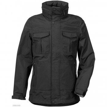 Куртка для юноши HENRI (черный)Куртки<br>Материал<br>Верх:100% полиамид<br>Утеплитель: нет<br>Подкладка: 100% полиэстер (сетка)<br>Водонепроницаемость: 8000 мм.<br>Паропроводимость: 4000 г/м2/24ч<br>Износостойкость: нет данных<br>Описание<br>Подростковая куртка для юноши от шведского бренда Didriksons. Производится в размерах 130-170. Куртка без утеплителя, прекрасно подойдет как для активного отдыха на температуру от +10 градусов. Верхняя ткань выполнена из ветро и влагозащитного материала. Капюшон удобно сворачивается в воротник. <br>Функциональные элементы: капюшон отстегивается с помощью кнопок, регулируется по объему, защитная планка молнии на кнопках, карманы на молнии, манжеты на липучке, утяжка по подолу. <br>Производитель: Didriksons 1913 (Швеция).<br>Страна производства: Китай.<br>Коллекция Весна/Лето 2017<br>Модель производится в размерах 130-170<br>Температурный режим<br>От +10 градусов и выше.; Размеры в наличии: 140, 150, 160, 170.<br>
