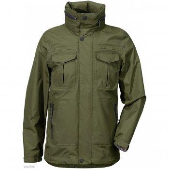 Куртка для юноши HENRI (серо-зеленый)Куртки<br>Подростковая куртка для юноши от шведского бренда Didriksons. Производится в размерах 130-170. Куртка без утеплителя, прекрасно подойдет как для активного отдыха на температуру от +10 градусов. Верхняя ткань выполнена из ветро и влагозащитного материала. Капюшон удобно сворачивается в воротник. <br><br> Производитель: Didriksons 1913 (Швеция).<br> Страна производства: Китай.<br> Коллекция Весна/Лето 2017<br> Модель производится в размерах 130-170<br>   капюшон отстегивается с помощью кнопок, регулируется по объему, защитная планка молнии на кнопках, карманы на молнии, манжеты на липучке, утяжка по подолу.  <br> Верх: 100% полиамид<br> Утеплитель: нет<br> Подкладка: 100% полиэстер (сетка)<br> Водонепроницаемость: 8000 мм.<br> Паропроводимость: 4000 г/м2/24ч<br> Износостойкость: нет данных<br><br> Температурный режим <br> От +10 градусов и выше.; Размеры в наличии: 140, 150, 160, 170.<br>