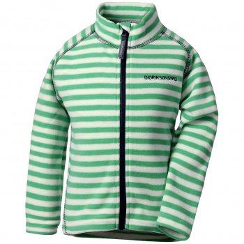 Флисовая кофта Monte Print (зеленая полоска)Одежда<br>Описание<br><br>Характеристики<br>Верх: 100% полиэстер (флис)<br>Производитель: Didriksons 1913 (Швеция)<br>Страна производства: Китай <br>Модель производится в размерах 80-140<br>Коллекция: Весна-Лето 2018<br>Температурный режим<br>От +15 градусов как самостоятельную вещь или в любую погоду в качестве промежуточного слоя; Размеры в наличии: 90, 100, 110, 120, 130, 140.<br>