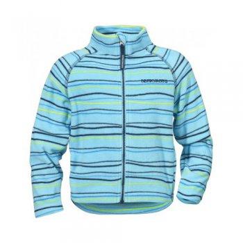 Флисовая кофта MONTE PRINT (полосы на голубом)Одежда<br>; Размеры в наличии: 80, 90, 100, 110, 120, 130, 140.<br>