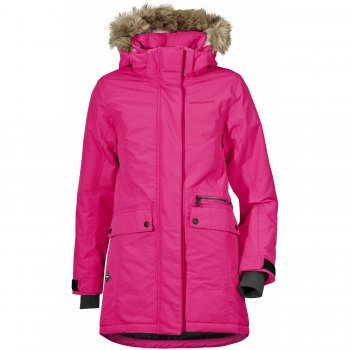 Куртка для девушки ZOE PARKA (фуксия)Куртки<br>; Размеры в наличии: 130, 140, 150, 160, 170.<br>