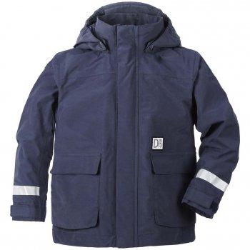 Куртка Callan (морской бриз)Куртки<br>Описание<br>Функциональные элементы: капюшон  отстегивается с помощью кнопок, карманы на липучке, защита подбородка от защимления, защитная планка молнии на липучке, манжеты на липучке,  утяжка по подолу. <br>Характеристики<br>Верх: 71% хлопок, 29% полиамид<br>Утеплитель: нет<br>Подкладка: 100% полиэстер<br>Водонепроницаемость: 8 000 мм<br>Паропроводимость: 5 000 г/м2/24ч <br>Износостойкость: нет данных<br>Производитель: Didriksons 1913 (Швеция)<br>Страна производства: Китай <br>Модель производится в размерах 80-140<br>Коллекция: Весна-Лето 2018<br>Температурный режим<br>От +10 до+20 градусов; Размеры в наличии: 90, 100, 110, 120, 130, 140.<br>