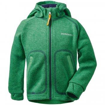 Didriksons 1913 Кофта флисовая Strokken (изумрудно-зеленый) didriksons куртка mochini флисовая темно сиреневая