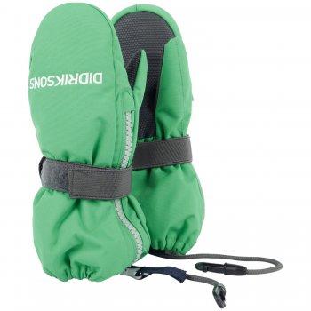 Didriksons Варежки Biggles Zip (изумрудно-зеленый) didriksons didriksons комбинезон romme зеленый