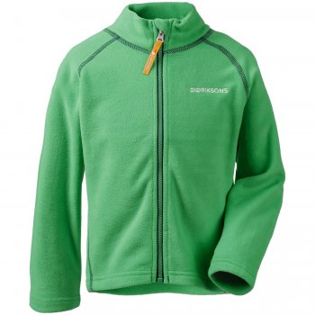 Didriksons Флисовая кофта Monte (изумрудно-зеленый)