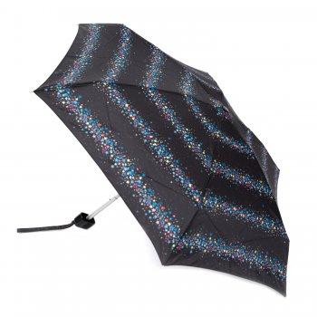 Зонт женский механика (звезды)Одежда<br>Очень легкий, компактный и практичный зонт. Он рассчитан на одного человека. Интересный момент - в сложенном состоянии зонт принимает четырехгранную форму и компактно располагается в кармане, сумочке или даже дверке автомобиля! У зонта имеется чехол с дополнительной впитывающей подкладкой, который защитит одежду и сумку от влаги. Не смотря на небольшой вес и габариты, у зонта прочная ветроустойчивая конструкция.  Механизм зонта: механика.<br> Тип зонта: складной.<br> Количество сложений: 5<br> Количество спиц: 6<br> Длина в сложенном виде (см): 15<br> Диаметр купола (см): 85<br> Материал купола: полиэстер.<br> Материал ручки: софт тач.<br> Материал стержня: алюминий.<br> Вес (гр): 160<br> Производитель: Fulton (Великобритания).<br> Страна производства: Великобритания. ; Размеры в наличии: б/р.<br>