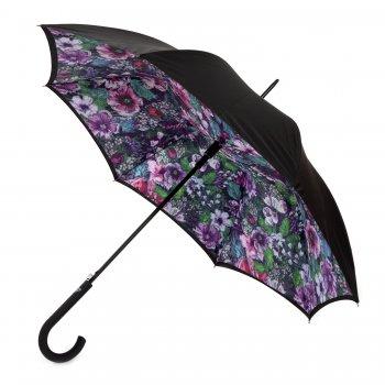 Fulton Зонт женский трость автомат (цветы) зонт женский isotoner ниагара 4 сложения полный автомат цвет черный