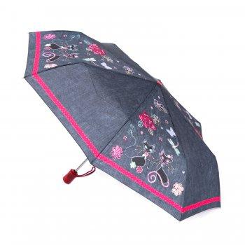 Зонт женский автомат (кошки)Одежда<br>; Размеры в наличии: б/р.<br>