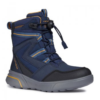 Geox Ботинки Sveggen (синий) geox ботинки с огоньками new gulp синий с зеленым
