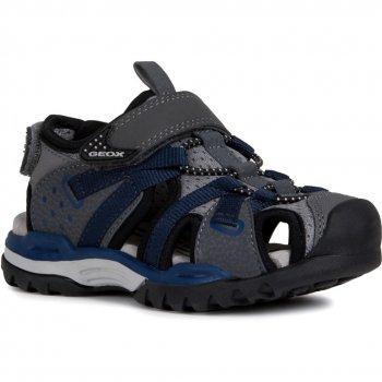 Geox Закрытые сандалии Borealis (темно-серый) viking сандалии закрытые thrill серый