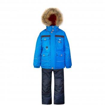 Комплект Gusti Boutique (голубой)Комбинезоны<br>Материал: <br>Верх: 100% полиэстер<br>Утеплитель:  куртка - 283 грамма, капюшон - 113 грамм, брюки - 170 грамм<br>Подкладка: polar флис (100% полиэстер)<br>Водонепроницаемость: 5000 мм<br>Паропроводимость: 5000 г/м2/24 часа<br>Износостойкость: нет данных<br>Описание: <br>Функциональные элементы: Куртка: капюшон отстегивается с помощью молнии, регулируется по объему, мех отстегивается, защитная планка молнии на липучке, защита подбородка от защемления, карманы на липучке, эластичные манжеты, снежная юбка, светоотражающие элементы. Брюки: регулируемые лямки, пояс на резинке, карманы на липучке, подол штанин регулируется липучкой, снежные гетры, светоотражающие элементы, вставки из материала повышенной прочности,система увеличения размера.<br>Производитель: Gusti (Канада)<br>Страна производства: Китай <br>Модель производится в размерах: 12 месяцев - 14 лет<br>Коллекция: Осень/Зима 2017<br>Температурный режим: <br>От 0 до -30 градусов; Размеры в наличии: 2, 3, 3X, 4, 5, 6X, 6, 7, 8, 10, 12, 14.<br>