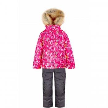 Комплект Gusti Boutique (розовый с цветочным орнаментом)Комбинезоны<br>Материал<br>Верх: 100% полиэстер<br>Утеплитель:  куртка - 283 грамма, капюшон - 113 грамм, брюки - 170 грамм<br>Подкладка: polar флис (100% полиэстер)<br>Водонепроницаемость: 5000 мм<br>Паропроводимость: 5000 г/м2/24 часа<br>Износостойкость: нет данных<br>Описание<br>Функциональные элементы: Куртка: капюшон отстегивается с помощью молнии, регулируется по объему, мех отстегивается, защитная планка молнии на липучке, защита подбородка от защемления, карманы на липучке, трикотажные манжеты, снежная юбка, светоотражающие элементы. Брюки: регулируемые лямки, пояс на резинке, карманы на липучке, подол штанин регулируется липучкой, снежные гетры, светоотражающие элементы, вставки из материала повышенной прочности.<br>Производитель: Gusti (Канада)<br>Страна производства: Китай <br>Модель производится в размерах: 12 месяцев-14 лет <br>Коллекция: Осень/Зима 2017<br>Температурный режим<br>От 0 до -30 градусов; Размеры в наличии: 2, 3, 3х, 4, 5, 6, 6х, 7, 8, 10, 12, 18М, 24М.<br>