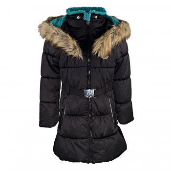 Пальто Gusti Boutique (черный)Куртки<br>Материал:<br>Верх:100% полиэстер<br>Утеплитель: куртка - 283 грамма, капюшон - 113 грамм.<br>Подкладка: polar флис (100% полиэстер).<br>Водонепроницаемость: 5000 мм.<br>Паропроводимость: 5000 гр./кв.м/24ч.<br>Износостойкость:нет данных.<br>Описание:<br>Функциональные элементы: Капюшон не отстегивается, мех не отстегивается, карманы на молнии, трикотажные эластичные манжеты. <br>Производитель: Gusti (Канада)<br>Страна производства: Китай<br>Модель производится в размерах: от 7-14 лет<br>Коллекция: Осень/Зима 2017.<br>Температурный режим:<br>До -30 градусов.<br>; Размеры в наличии: 7, 8, 10, 12, 14.<br>