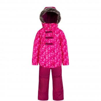 Комплект Gusti Zingaro (розовый со снежинками)Комбинезоны<br>Материал:<br>Верх: 100% полиэстер<br>Утеплитель:  куртка - 226 грамм, полукомбинезон - 170 грамм (тонковолокнистый полиэстеровый утеплитель teck polifill)<br>Подкладка: polar флис (100% полиэстер)<br>Водонепроницаемость: 2000 мм<br>Паропроводимость: 2000 г/м2/24 часа<br>Износостойкость: нет данных<br>Описание:<br>Функциональные элементы: Куртка: капюшон отстегивается с помощью молнии, мех не отстегивается, защитная планка молнии на липучке, защита подбородка от защемления, карманы на липучке, трикотажные манжеты, снежная юбка, светоотражающие элементы. Брюки: регулируемые лямки, пояс на резинке, подол штанин регулируется липучкой, снежные гетры, вставки из материала повышенной прочности. <br>Производитель: Gusti (Канада)<br>Страна производства: Китай <br>Модель производится в размерах: 12 месяцев-14 лет <br>Коллекция: Осень/Зима 2017<br>Температурный режим: <br>От 0 до -30 градусов; Размеры в наличии: 2, 3, 4, 5, 6, 18М.<br>